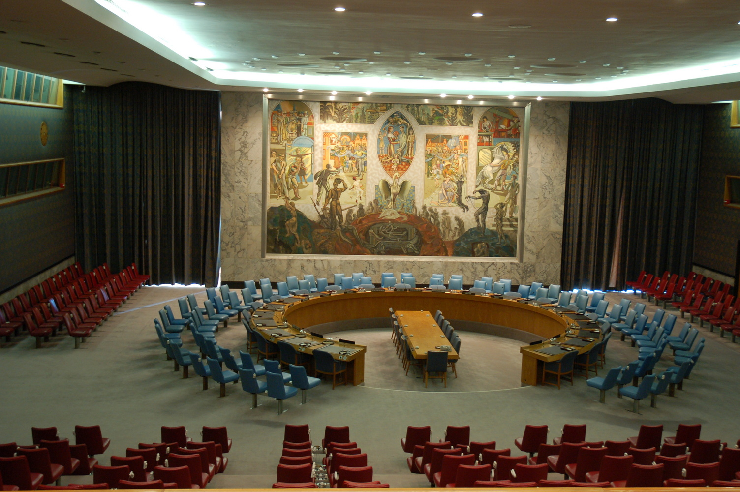 REJS: Photos: USA 2006: New York: United Nations Headquarters