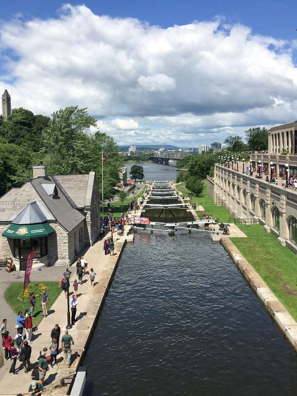 REJS: Photos: Canada and USA 2017: Ottawa: Rideau Canal